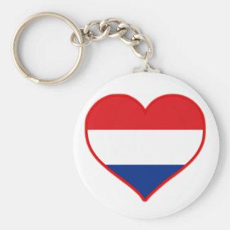 Holland Love Keychain