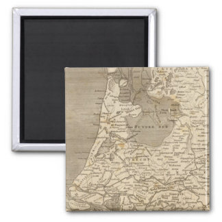 Holland Map by Arrowsmith Refrigerator Magnets
