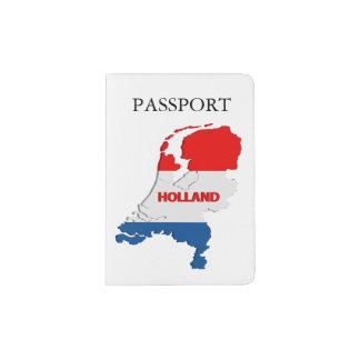 Holland map passport holder