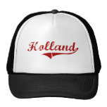 Holland Massachusetts Classic Design Mesh Hats