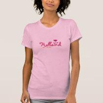 Holland, Michigan - with Vibrant Pattern Tulip T-Shirt