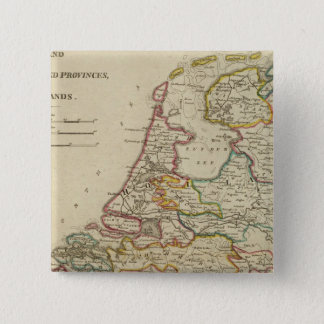 Holland Or The Seven United Provinces Pinback Button