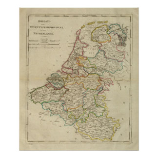 Holland Or The Seven United Provinces Poster