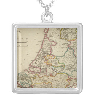 Holland Or The Seven United Provinces Silver Plated Necklace