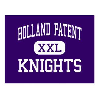 Holland Patent - Knights - High - Holland Patent Postcard