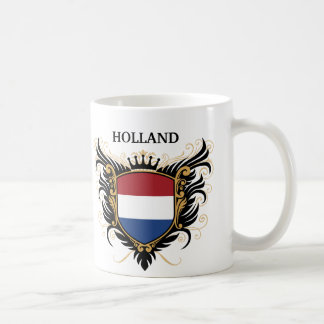 Holland [personalize] classic white coffee mug