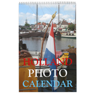 Holland Photo Wall Calendar