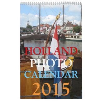 Holland Photo Wall Calendar 2015