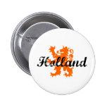 Holland Pinback Button