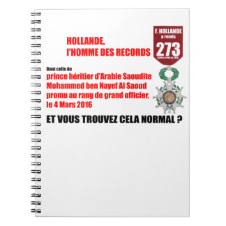 Holland Record Legions of Honor - Notebook