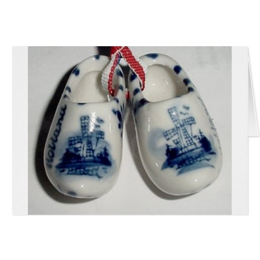 holland shoes greeting card