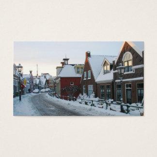 Holland Snow Village Photo Card
