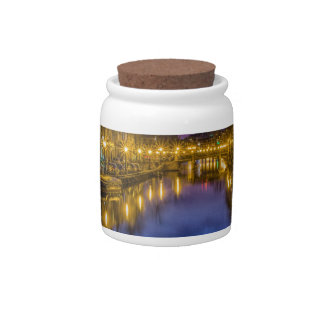 Holland Suffer City Blue Hour Channel Candy Jars