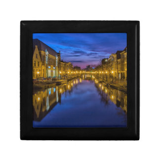 Holland Suffer City Blue Hour Channel Trinket Boxes