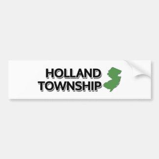 Holland Township, New Jersey Bumper Sticker