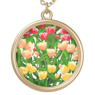 Holland Tulip Garden Necklace