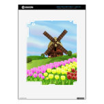 Holland Tulips Skins For iPad 3
