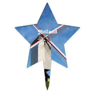 Holland Windmill Cake Picks