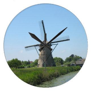 Holland Windmill Clock