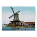 Holland Windmill Greeting Card
