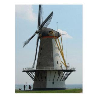 Holland windmill in Zeeland, The Netherlands Postcard