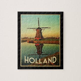Holland Windmill Jigsaw Puzzles