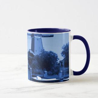 Holland Zaandijk Windmills Delftware-Delft-Blue Mug
