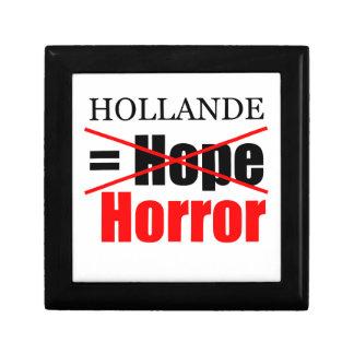 Hollande Not Hope = Horror !!!!!!!!!!! Jewelry Box