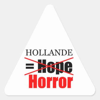 Hollande Not Hope = Horror - T Sticker