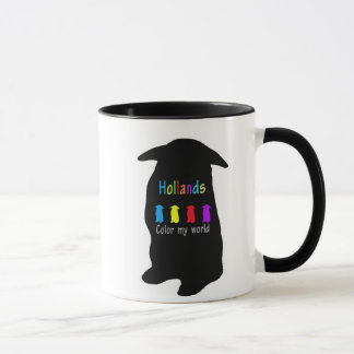 Hollands color my world mug