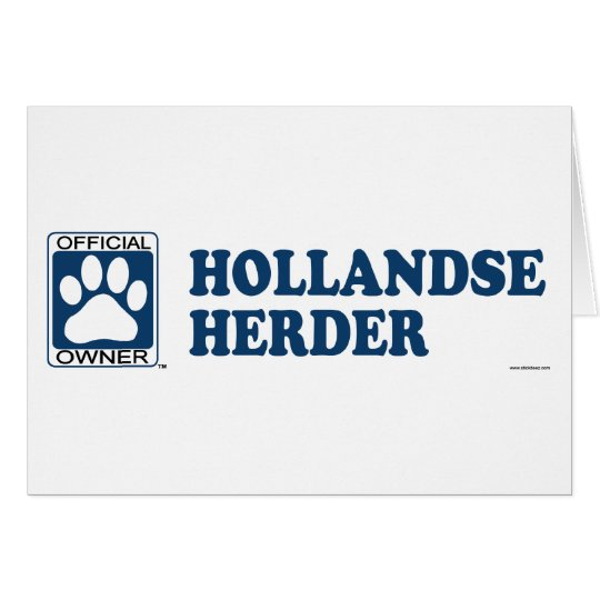 Hollandse Herder Blue Card