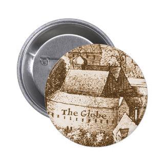Hollar's Globe Theatre Button