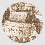 Hollar's Globe Theatre Classic Round Sticker