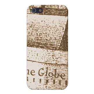 Hollar's Globe Theatre Engraving Cover For iPhone SE/5/5s