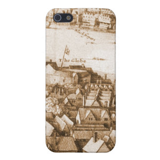 Hollar's Globe Theatre Long View of London iPhone SE/5/5s Cover