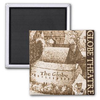 Hollar's Globe Theatre Magnet