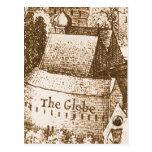 Hollar's Globe Theatre Postcards