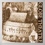Hollar's Globe Theatre Poster