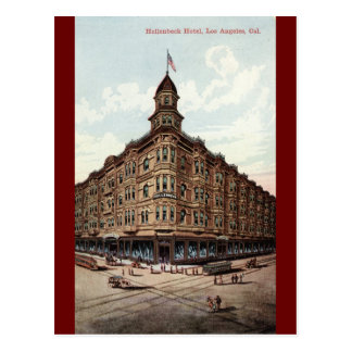 Hollenbeck Hotel, Los Angeles c1910 Vintage Postcard