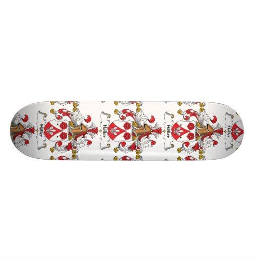 Holler Family Crest Skate Board