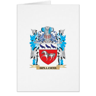 Holleran Coat of Arms - Family Crest Card