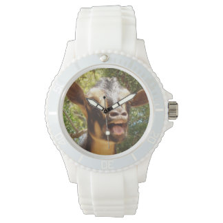 Hollering Goat Wrist Watch