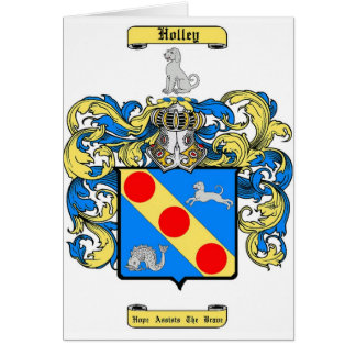 Holley Card
