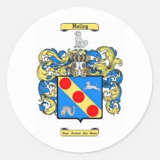 Holley Classic Round Sticker