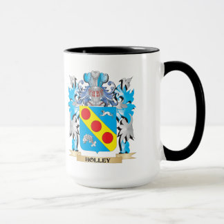 Holley Coat of Arms - Family Crest Mug