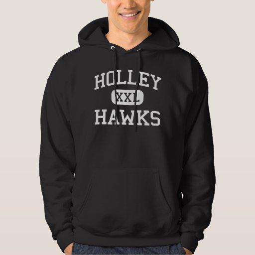 Holley - Hawks - High School - Holley New York Hoodies