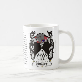 Holley, History, Meaning and the Crest Mug