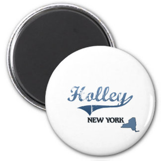 Holley New York City Classic 2 Inch Round Magnet