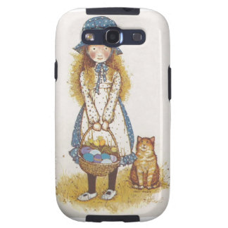 Hollie Hobby walking with her kitty. Galaxy SIII Covers