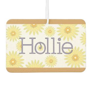 "Hollie ""Isn't Life Daisy"" Design Car Air Freshener"